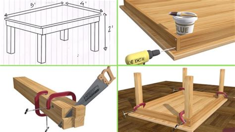 woodworking desk plans with cable management