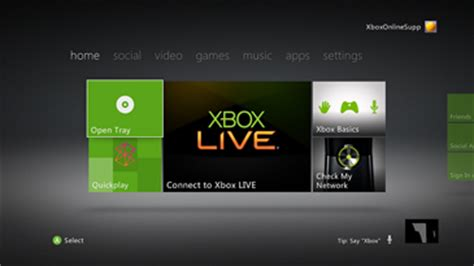 change home layout xbox one xbox 360 e initial setup xbox setup setting up xbox