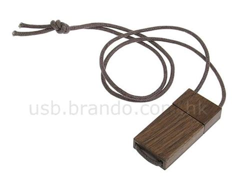 wooden usb necklace fashion meets tech