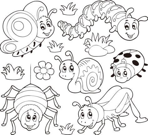 coloring pages birds and insects 凶猛的动物简笔画 动物简笔画大全步骤图 动物简笔画大全带颜色 儿童画画大全简单漂亮 小动物简笔画 海底世界简笔画