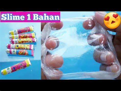 membuat slime dengan deterjen slime 1 bahan cara membuat slime dengan 1 bahan youtube