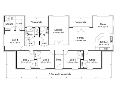 house plan australia the hden 171 australian house plans