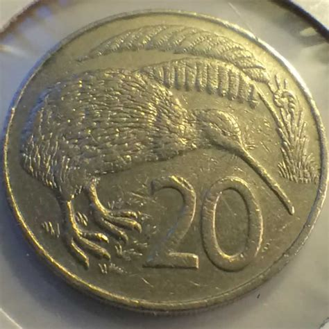 Nem 20c 1988 new zealand 1986 1989 elizabeth ii 20 cents