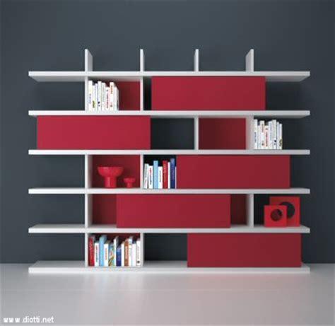 libreria ikea rossa librerie