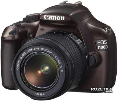 Canon Eos 1100d Kit Brown rozetka ua canon eos 1100d 18 55 is ii kit