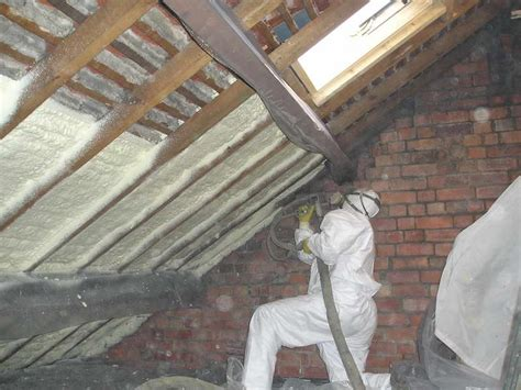 miscellaneous with spray foam insulation roofing