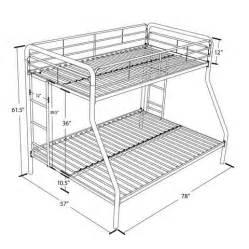 Bunk Bed Measurements Bunk Beds Metal Boys Bedroom Ladder Furniture Kid Ebay
