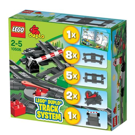 Lego Duplo 10506 Accessory Set Track System New In Box Lego Duplo 10506 Accessory Set Track