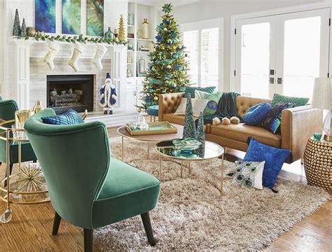 Exceptional Black And Gold Living Room Furniture #1: Christmas_living-room_vig.jpg
