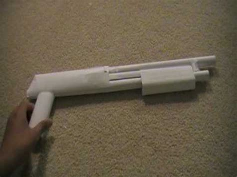 How To Make A Paper Shotgun - simple paper shotgun explanation
