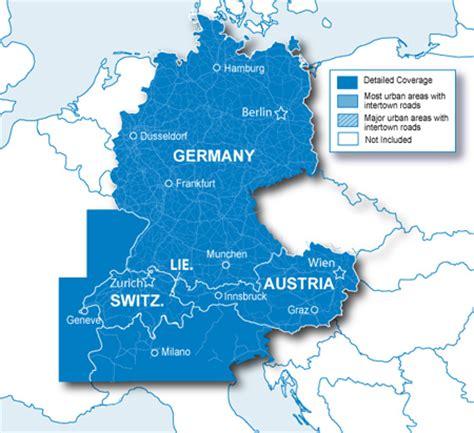 map netherlands germany switzerland city navigator 174 europe nt alps dach garmin