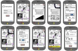 storyboard template app learn the five steps on how to build an app buzinga