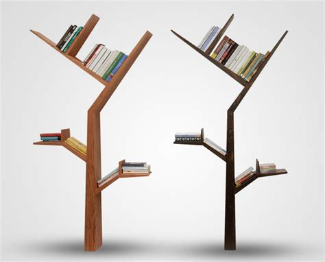 bookshelf designs branch tree shelves in brown and black