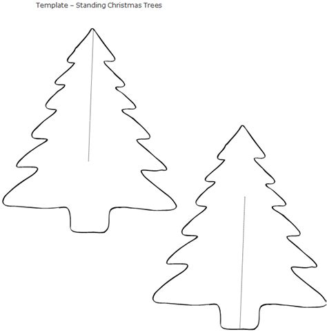 printable templates of christmas trees origami christmas tree paper template paper origami guide