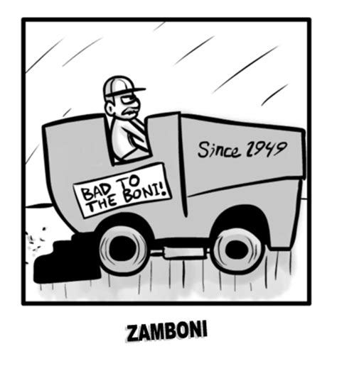 coloring pages zamboni hockey s zamboni driver one of my favorite non athletes