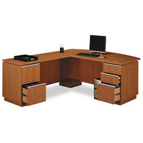 L Shaped Executive Office Desk New 4pc L Shape Executive Office Desk Set Bs Mil L1