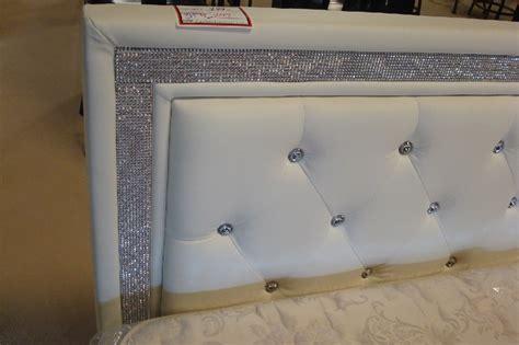 rhinestone bed frame rhinestone bed furniture
