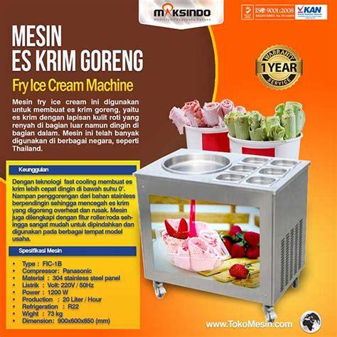 Mesin Es Krim Roll Goreng mesin fry es krim roll goreng toko mesin