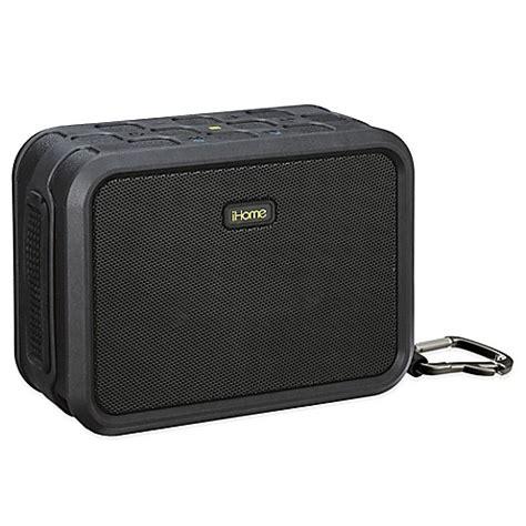 bed bath and beyond speakers buy ihome 174 rugged waterproof wireless bluetooth 174 speaker