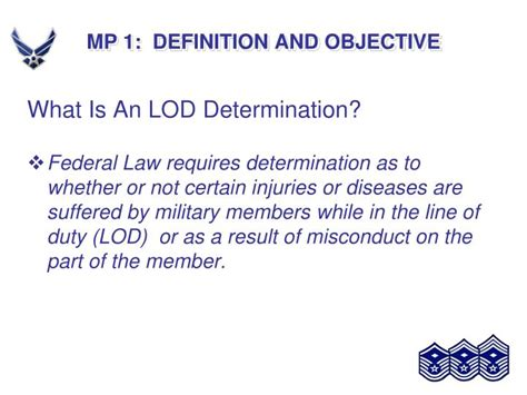 objective statement definition definition objective