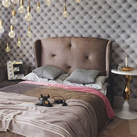 Grey Vintage Bedroom Wallpaper Luxurious Grey Velvet Bedroom Vintage Design