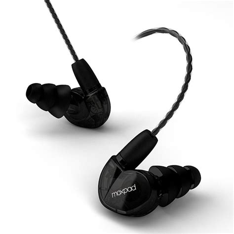 Moxpad X6 Earphone Noise Isolating Moxpad X6 Earphone Noise Isolating Black Jakartanotebook