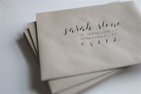 addressing inner and outer envelopes wedding invitations calligraphy addressing service per outer inner envelope