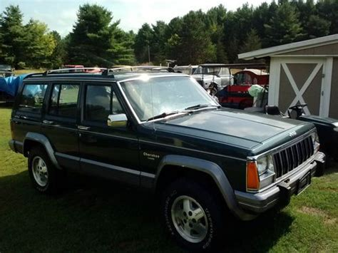 car engine repair manual 1992 jeep cherokee electronic valve timing find used 1992 jeep grand cherokee laredo sport utility 4 door 4 0l in upper jay new york