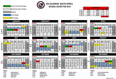 south african school terms and public holidays 2016 public holidays calendar 2016 newhairstylesformen2014 com