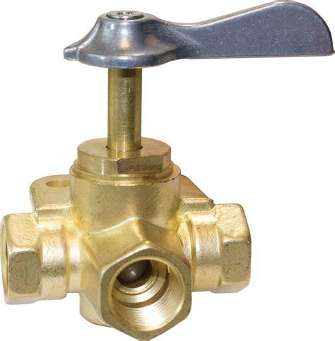 valves three way seasense three way brass fuel line valve iboats