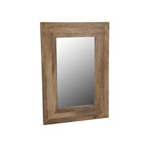 wall mirror wood frame mirror hanging mirror mango
