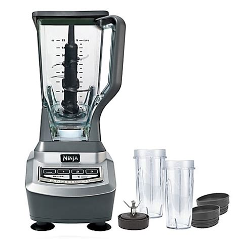 ninja blender bed bath and beyond buy ninja 174 professional blender and single serve from bed