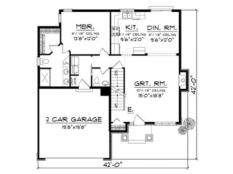 affordable two story house plans affordable home plans two story affordable house plan 020h 0344 at