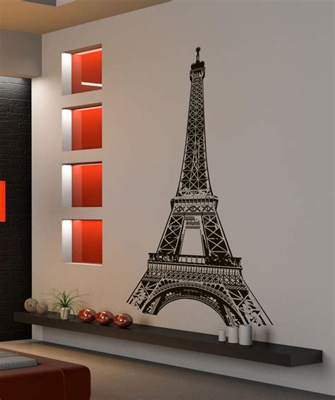 wall stickers eiffel tower eiffel tower wall decal eiffel tower stickers for walls