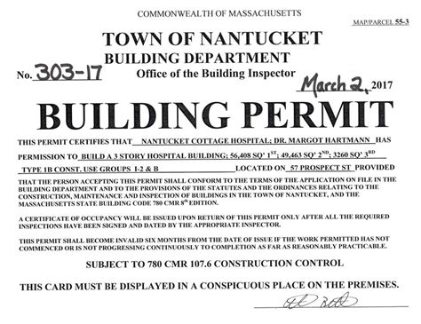 Building Letter Patient Understanding By Pharmacist Nch Receives Building Permit For New Hospital Nantucket Cottage Hospital
