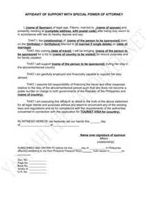 Authorization Letter For Korean Visa affidavit of support for japan visa china visa yannah
