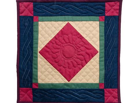 center quilt terrific well made amish quilts
