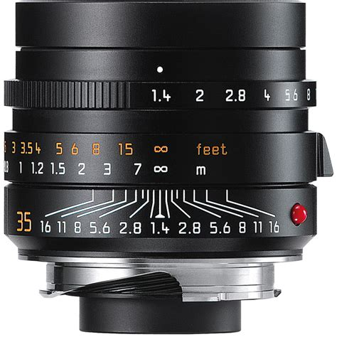 leica lenses leica summilux m 35mm f 1 4 asph lens black 11663 b h photo