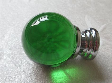 Green Glass Knob by Green Glass Knobs Knob Green Drawer Knobs Dresser Knob