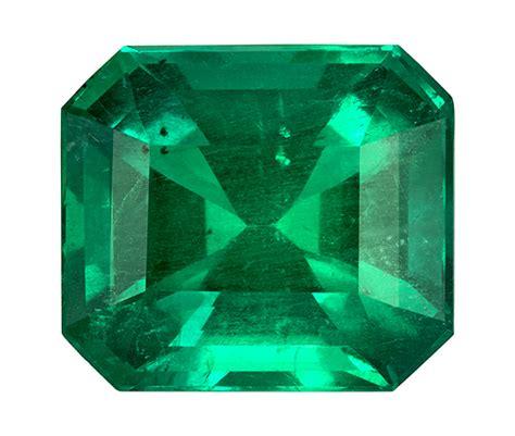 green emerald  carat emerald cut gemstone