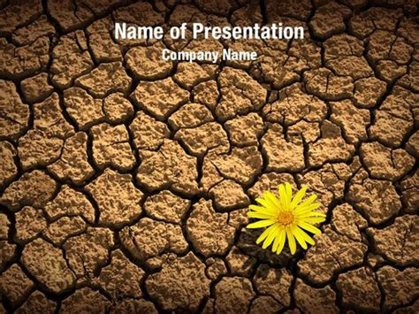 powerpoint themes soil dried soil powerpoint templates dried soil powerpoint