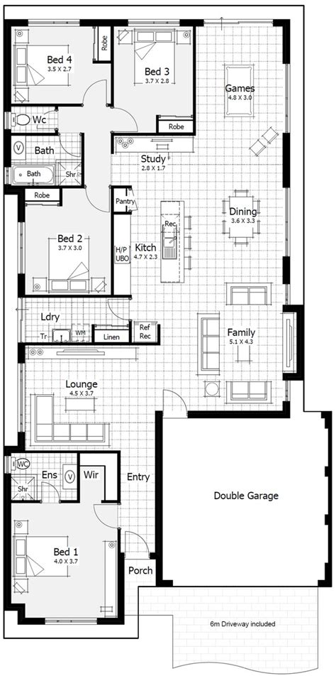 metre wide home designs home buyers centre