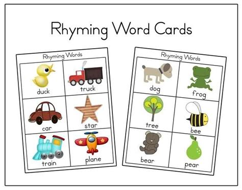 printable rhyming puzzles 89 best images about teaching rhyming on pinterest