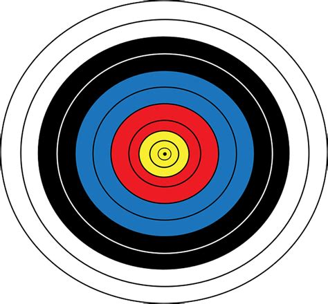 l target free vector graphic archery games olympics target