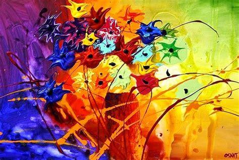 pintar cuadros con pintura acrilica cuadros modernos pinturas y dibujos cuadros de flores en