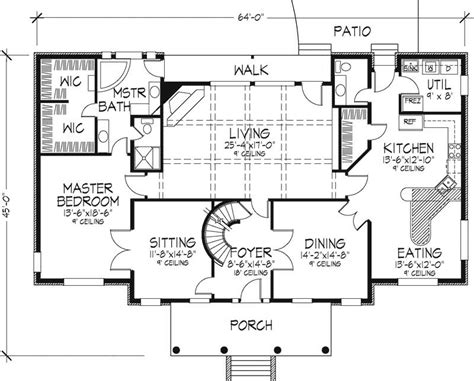 small minimalist plantation house plans layout 2014 trend