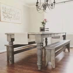 large farmhouse table legs 11 best farmhouse dining table legs images on