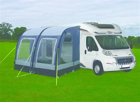 motorhome air awnings ka motor rally air 260 xl motorhome awning