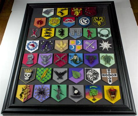 house glover game of thrones game of thrones paper quilling house sigils framed by wholedwarf on deviantart