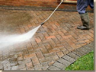 how to clean a patio with a pressure washer muls inc
